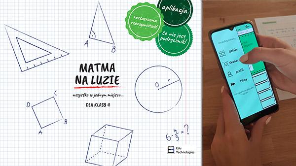 MATMA NA LUZIE dla klasy 4 – książka i aplikacja
